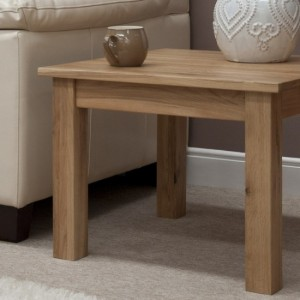 Clearance Opus Solid Oak Furniture 2ft X 2ft Square Coffee Table